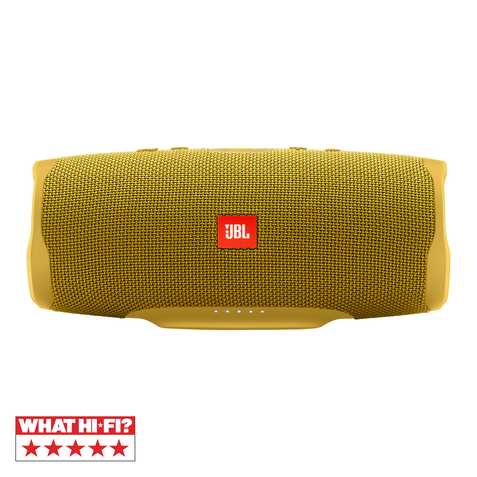 JBL Charge 4 - Mustard Yellow - Portable Bluetooth speaker - Hero