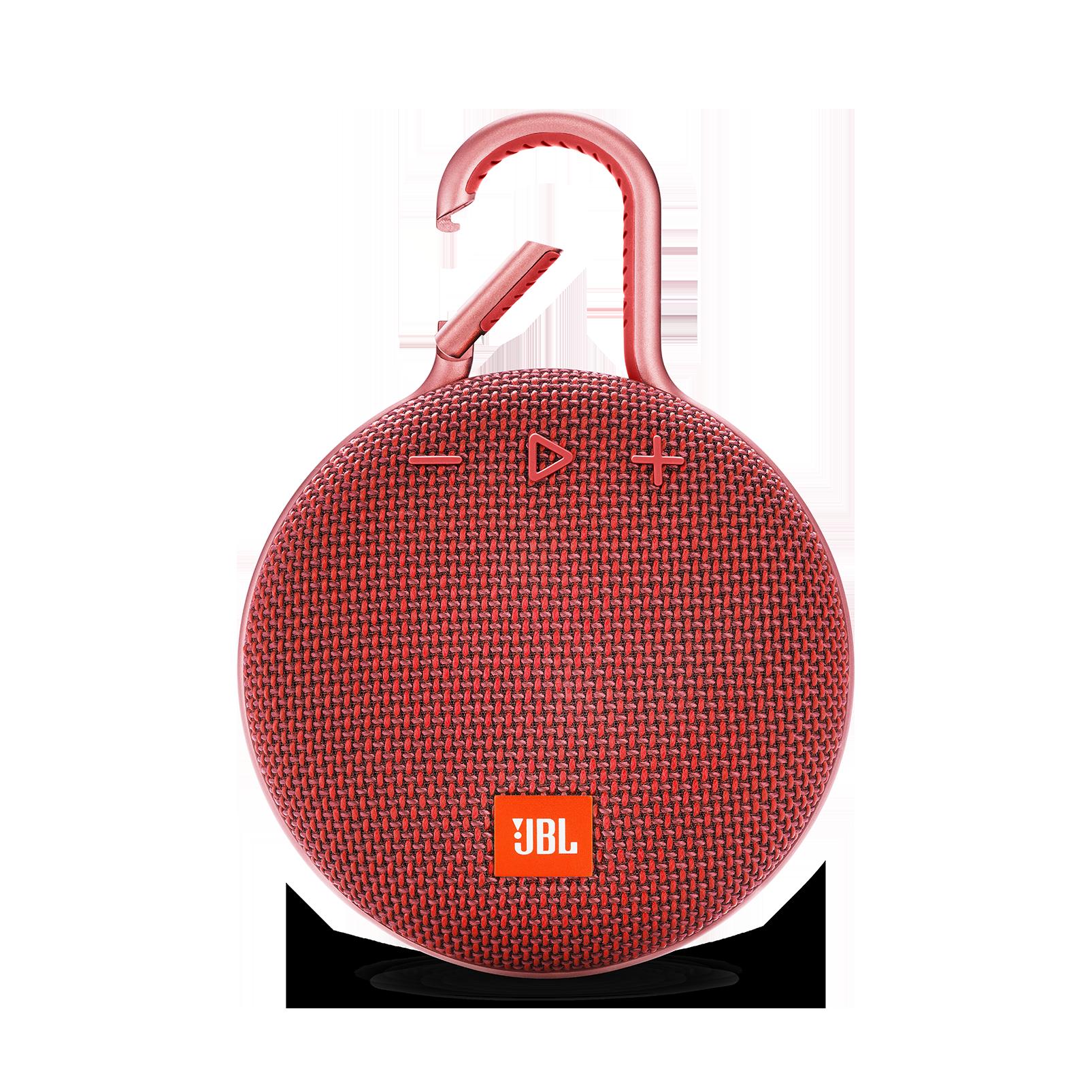 JBL CLIP 3 - Fiesta Red - Portable Bluetooth® speaker - Front