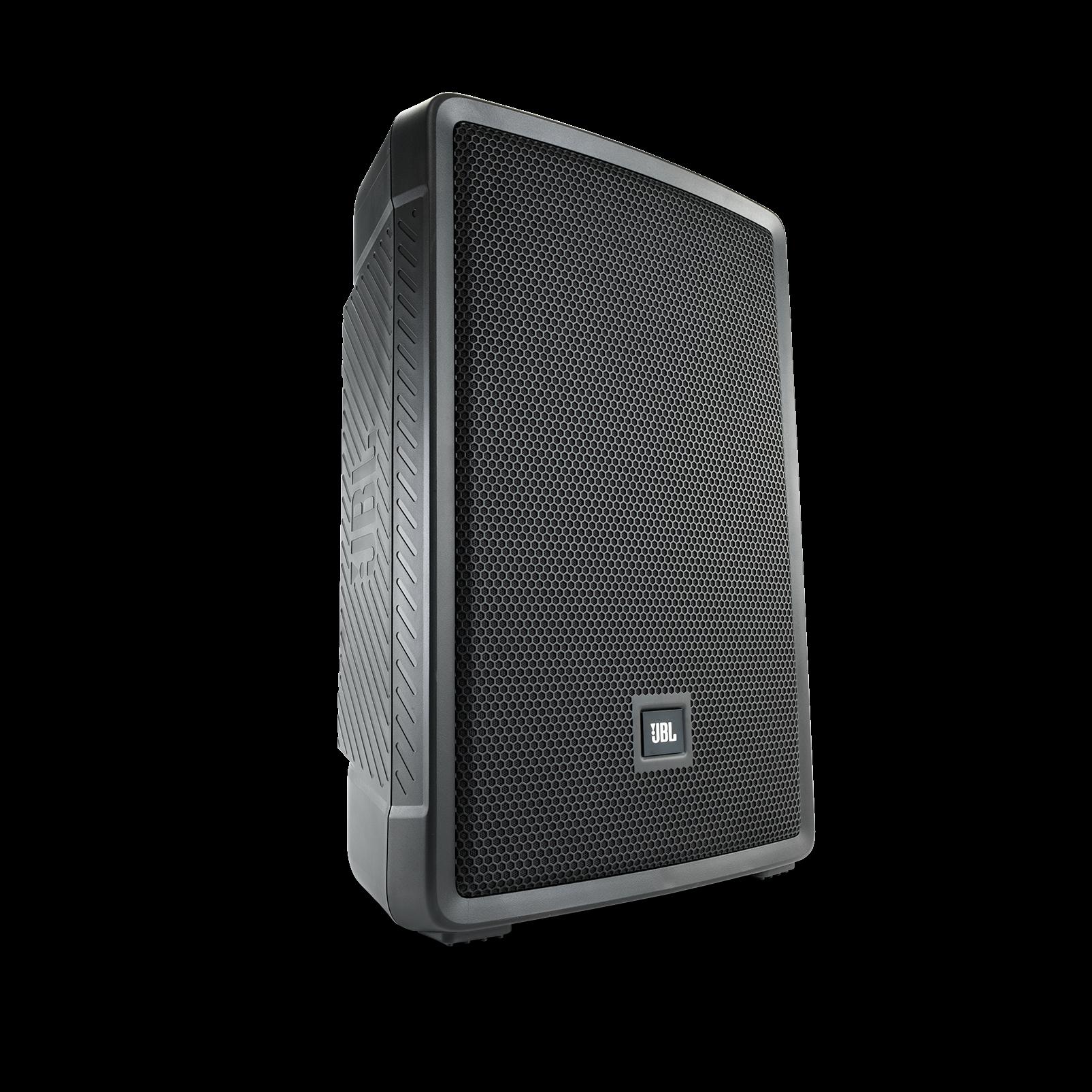 "JBL IRX112BT - Black - Powered 12"" Portable Speaker with Bluetooth® - Hero"