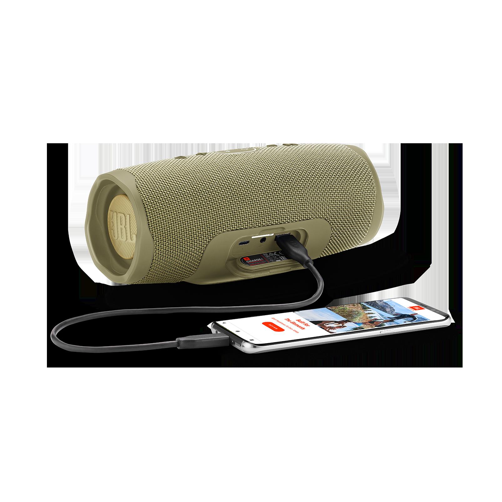 JBL Charge 4 - Sand - Portable Bluetooth speaker - Detailshot 4