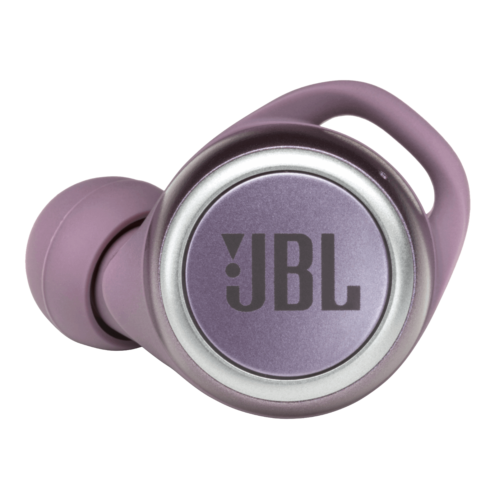 JBL LIVE 300TWS - Purple - True wireless in-ear headphones with Smart Ambient - Detailshot 1
