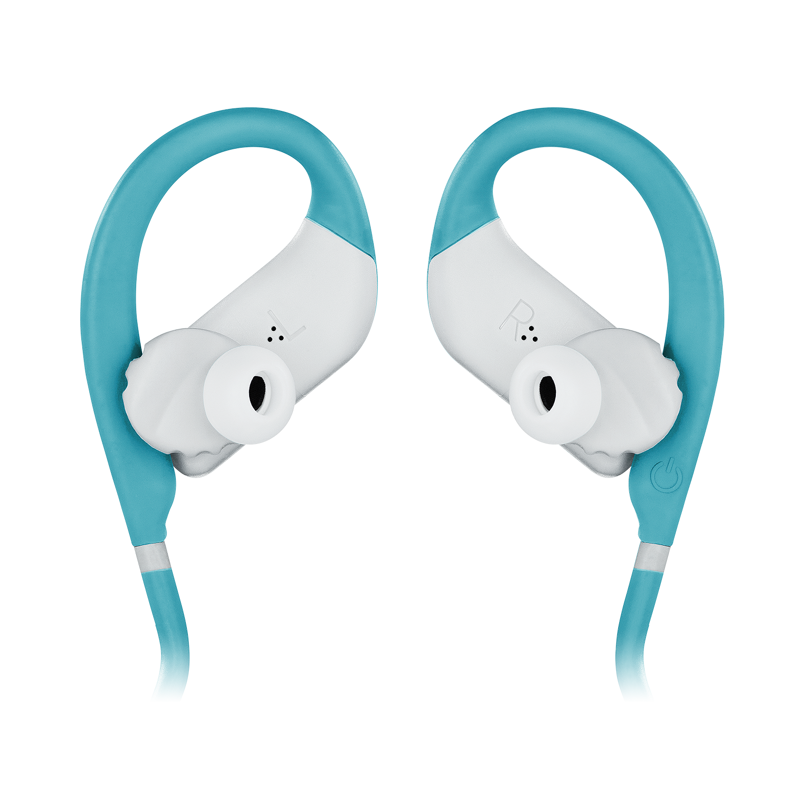 JBL Endurance JUMP - Teal - Waterproof Wireless Sport In-Ear Headphones - Detailshot 3