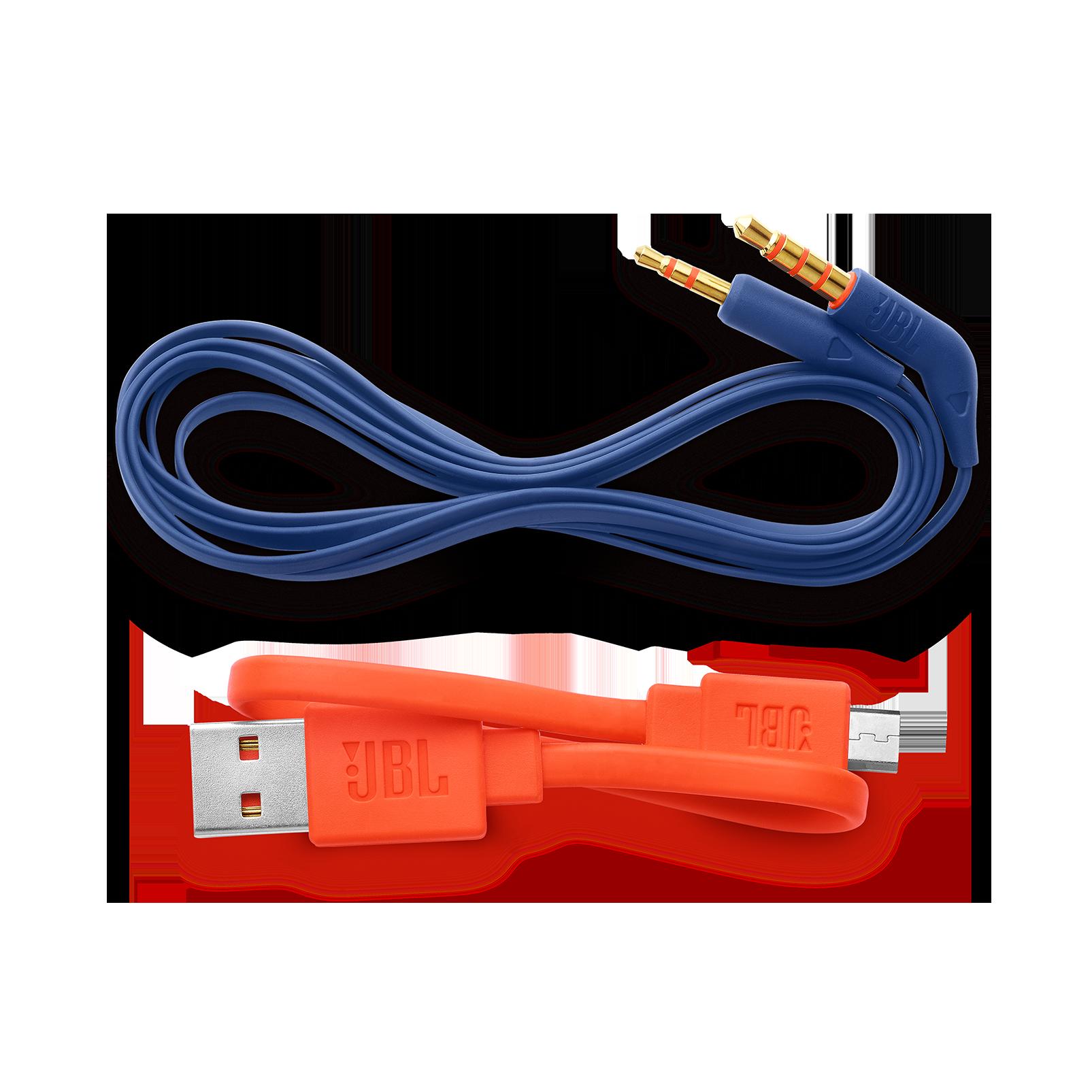 JBL TUNE 600BTNC - Blue - Wireless, on-ear, active noise-cancelling headphones. - Detailshot 5
