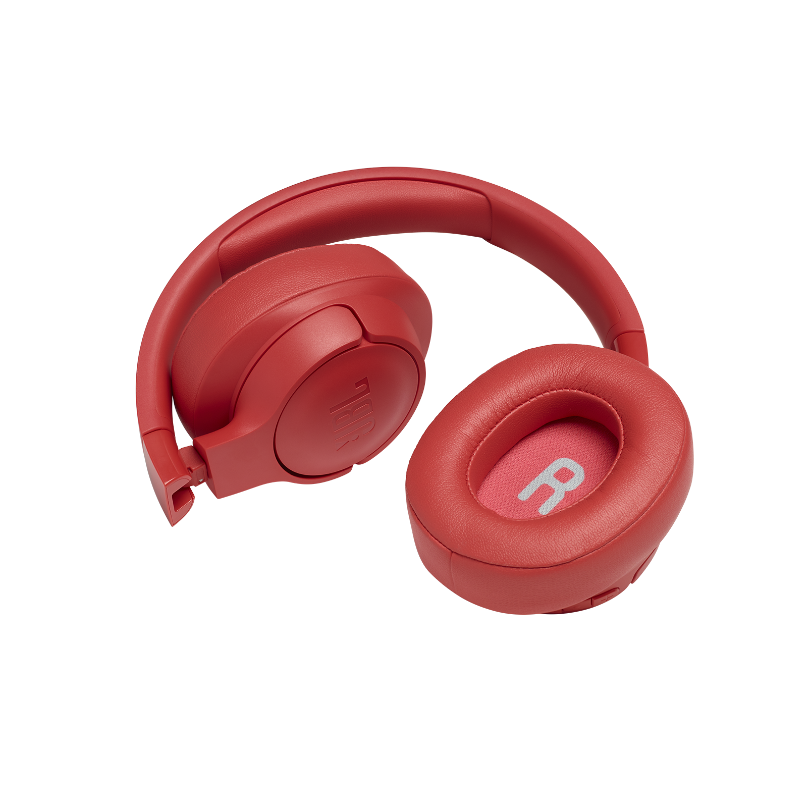 JBL TUNE 700BT - Coral Orange - Wireless Over-Ear Headphones - Detailshot 2