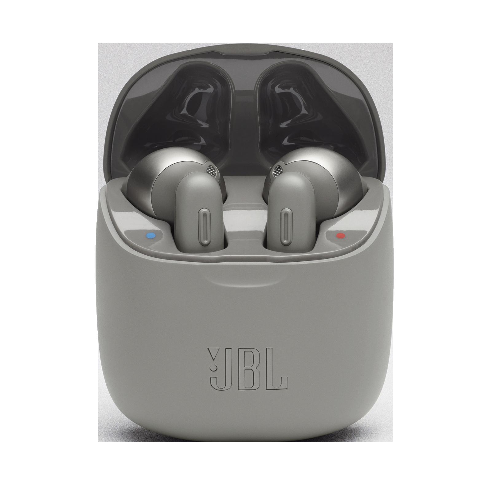 JBL TUNE 220TWS - Grey - True wireless earbuds - Hero