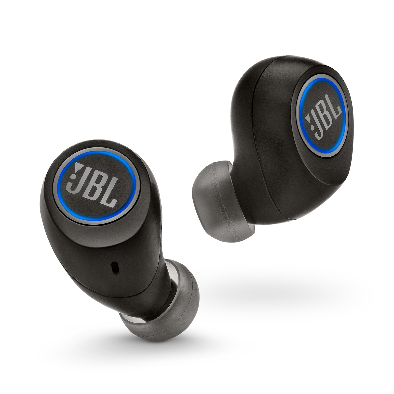 JBL Free X - Black - Truly wireless in-ear headphones - Front