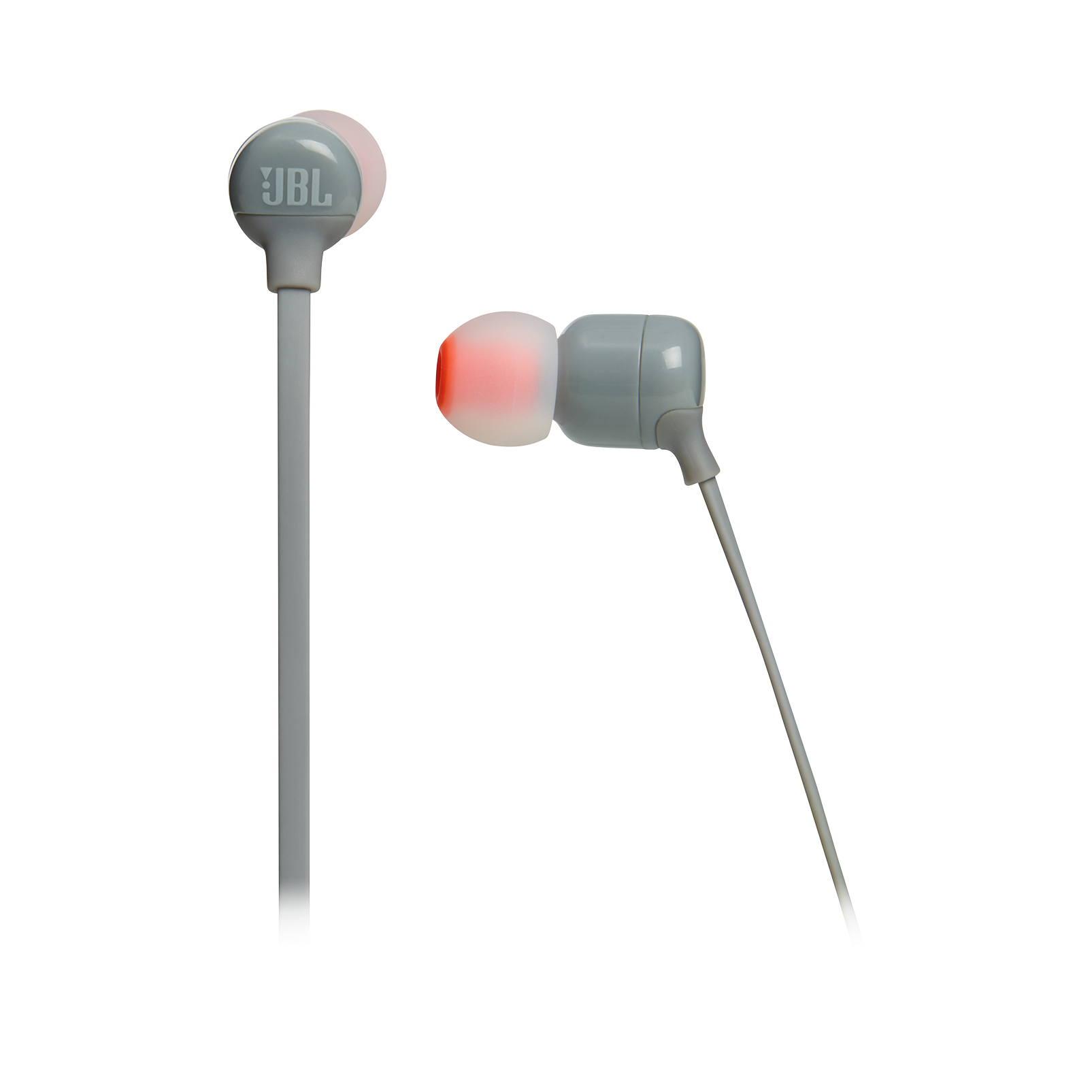 JBL TUNE 110BT - Grey - Wireless in-ear headphones - Detailshot 3