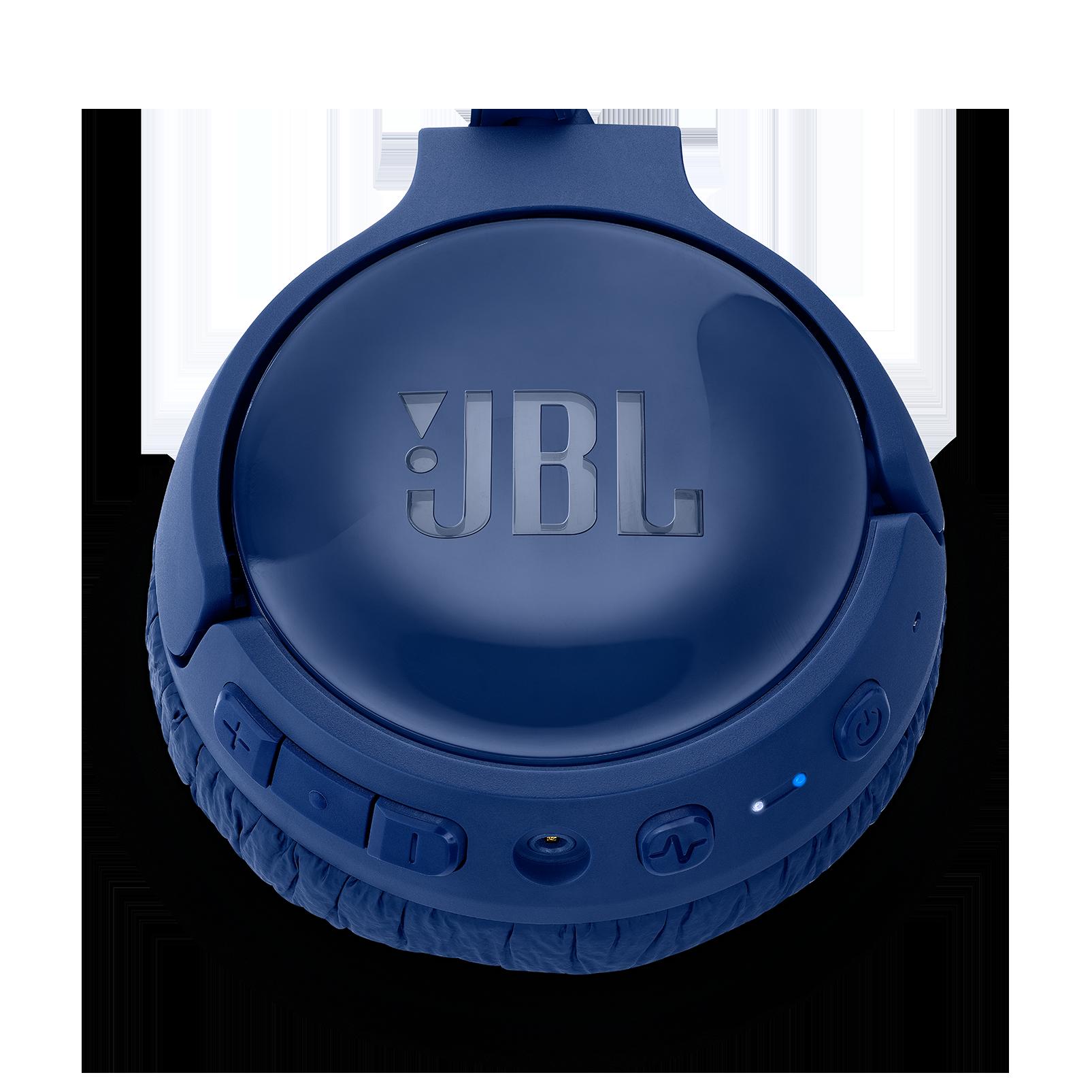 JBL TUNE 600BTNC - Blue - Wireless, on-ear, active noise-cancelling headphones. - Detailshot 3