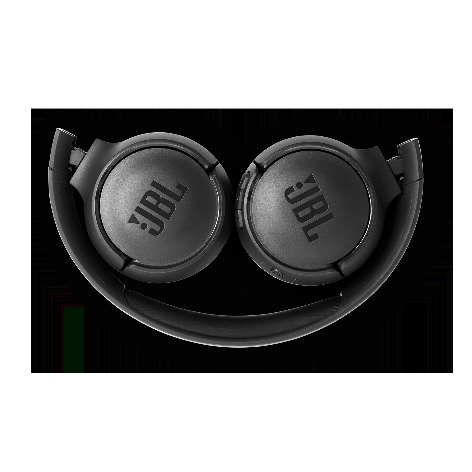 JBL TUNE 500BT - Black - Wireless on-ear headphones - Detailshot 3