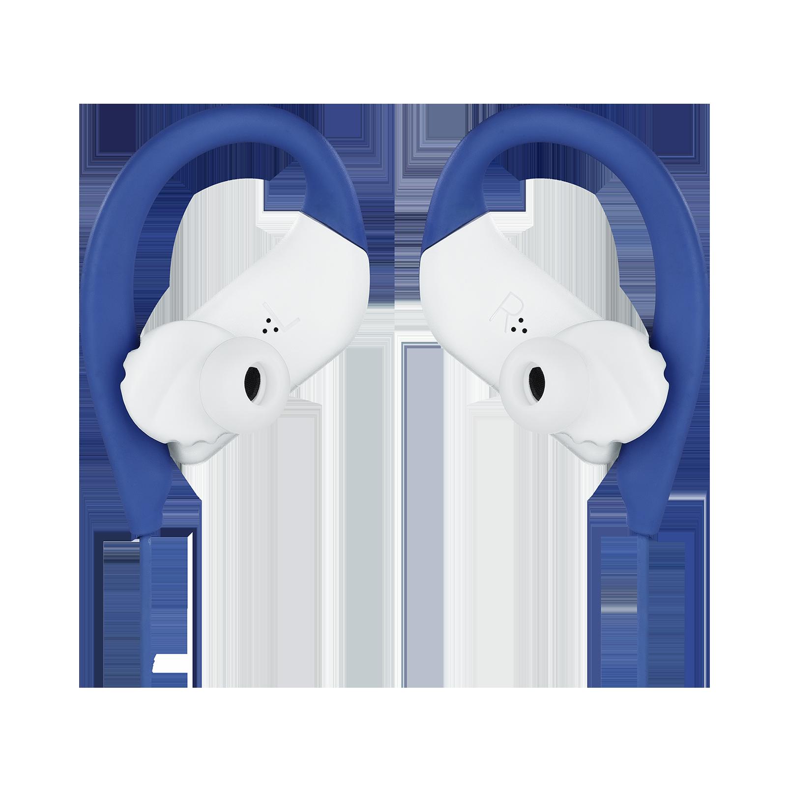 JBL Endurance SPRINT - Blue - Waterproof Wireless In-Ear Sport Headphones - Detailshot 3