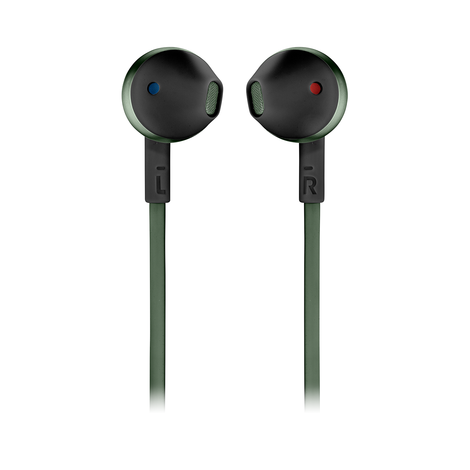 JBL TUNE 205BT - Green - Wireless Earbud headphones - Front